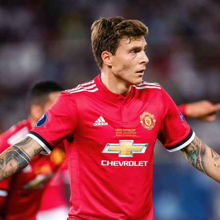 Lindelöf målskytt i Manchester Uniteds kross mot Leeds
