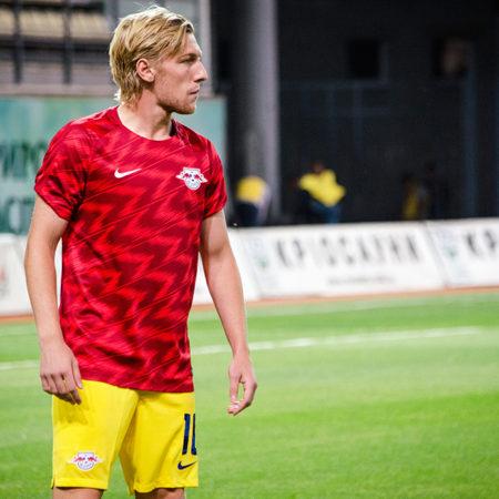 Emil Forsberg inbytt och målskytt i bortamötet mot Freiburg