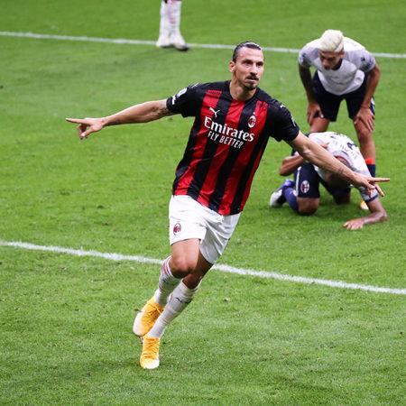 Zlatan målskytt i bortamötet mot Fiorentina