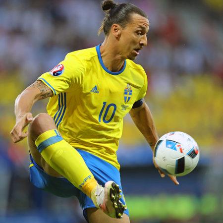 Zlatan Ibrahimovic är klar för spel i svenska landslaget!