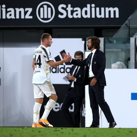 Kulusevski målskytt när Juventus besegrade Genoa i ligan